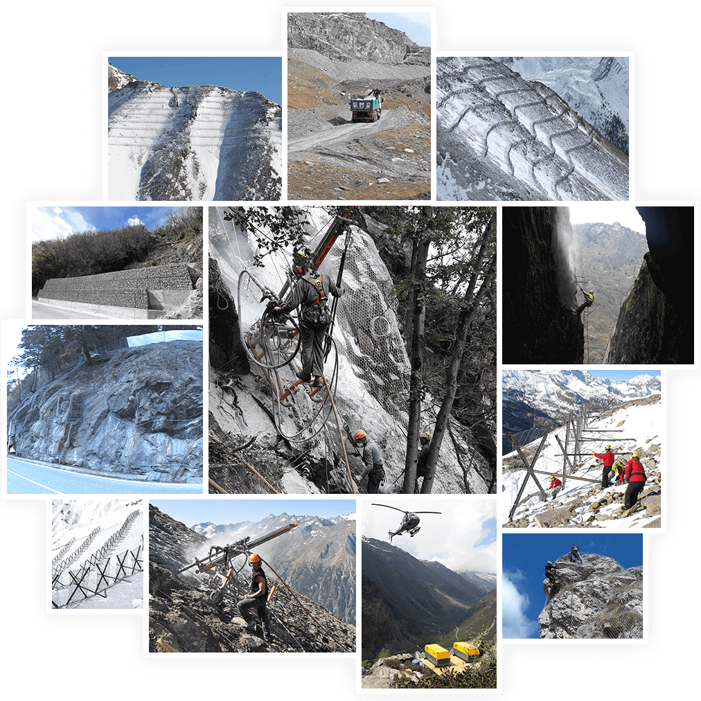 Settore geotecnico, collage | Ecoval srl